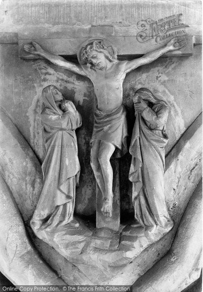Photo of Worcester, The Cathedral 'crucifixion' 1893