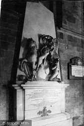 Worcester, The Cathedral, Ellis Monument 1892