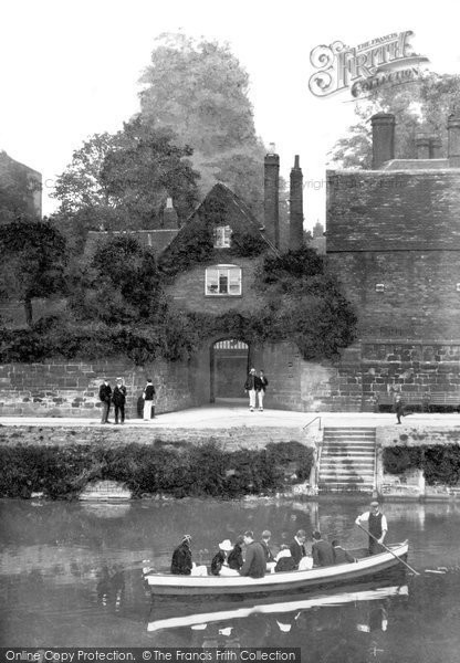 Photo of Worcester, The Cathedral Ferry 1906