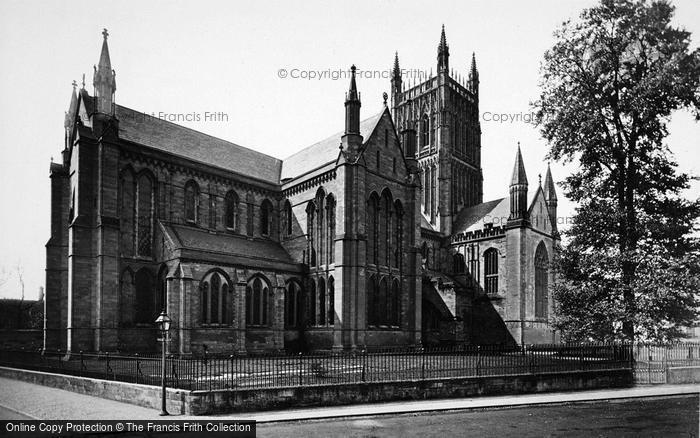 Photo of Worcester, The Cathedral, From The North East c.1910
