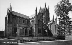 Worcester, The Cathedral, From The North East c.1910