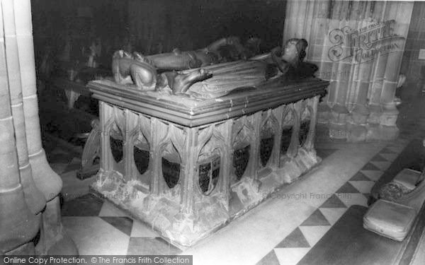 Photo of Worcester, The Cathedral Interior, The Beauchamp Tomb c.1965