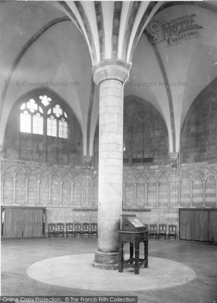 Photo of Worcester, The Cathedral Interior, The Chapter House c.1960