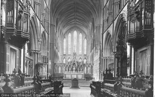 Photo of Worcester, The Cathedral Interior, The Choir c.1960