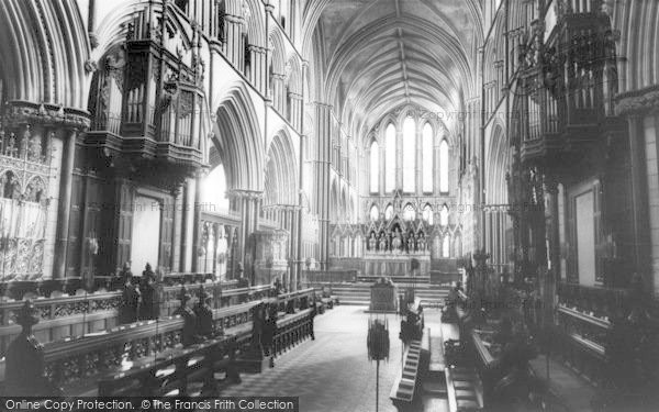 Photo of Worcester, The Cathedral Interior, The Choir c.1965