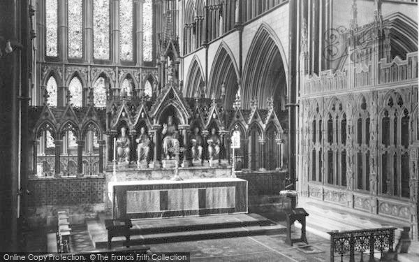 Photo of Worcester, The Cathedral Interior, The High Altar c.1960