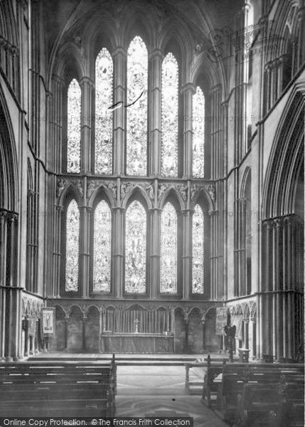 Photo of Worcester, The Cathedral Interior, The Lady Chapel c.1960