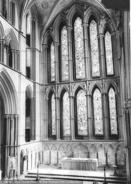 Photo of Worcester, The Cathedral Interior, The Lady Chapel c.1965