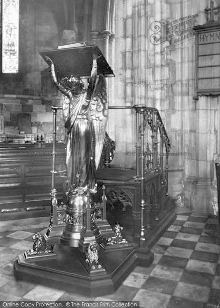 Photo of Worcester, The Cathedral Interior, The Lectern 1906