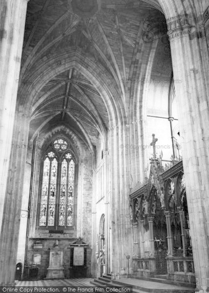 Photo of Worcester, The Cathedral Interior, The Screen And North Transept c.1965