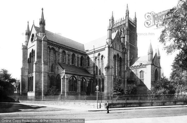 Photo of Worcester, The Cathedral, North East 1891