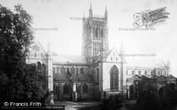 Worcester, The Cathedral, North Side 1892