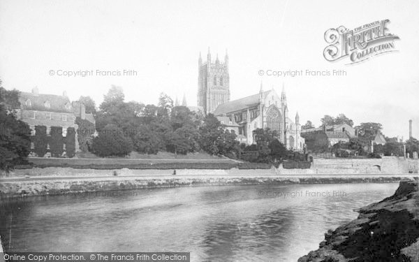 Photo of Worcester, The Cathedral, North West 1892