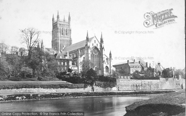 Photo of Worcester, The Cathedral, North West c.1869