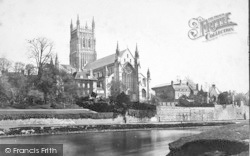 Worcester, The Cathedral, North West c.1869