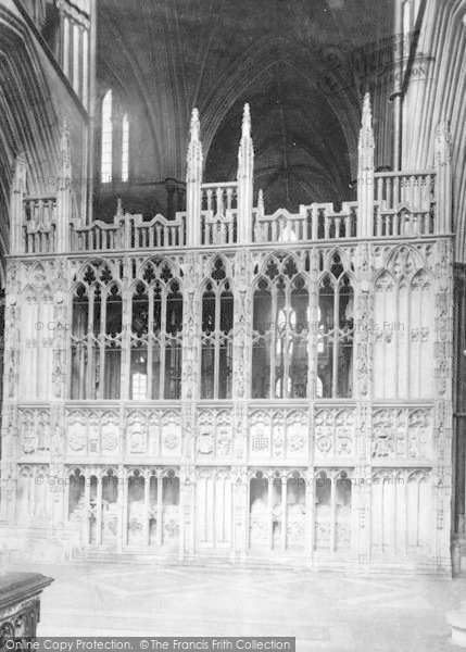Photo of Worcester, The Cathedral, Prince Arthur's Chantry 1907