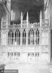 Worcester, The Cathedral, Prince Arthur's Chantry 1907