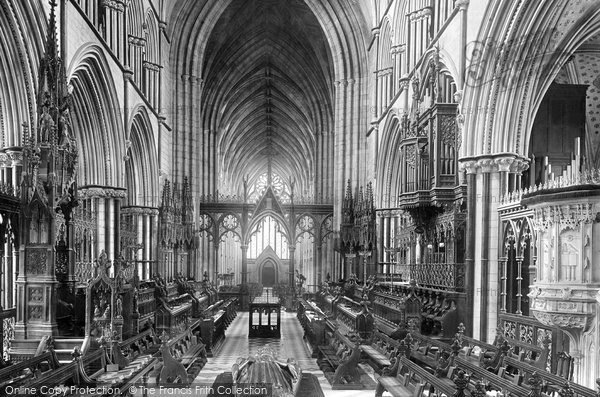 Photo of Worcester, The Cathedral Quire 1891