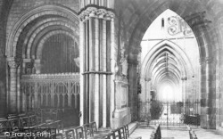 Worcester, The Cathedral, Side Chapel 1893