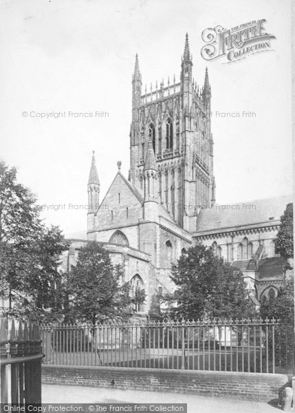 Photo of Worcester, The Cathedral, South Transept And Tower 1907