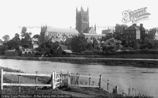 Photo of Worcester, The Cathedral, South West 1891