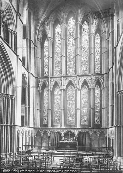 Photo of Worcester, The Cathedral, The Lady Chapel 1892