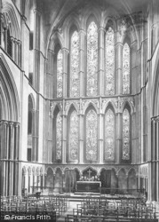 Worcester, The Cathedral, The Lady Chapel 1892