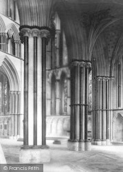 Worcester, The Cathedral, The Lady Chapel c.1869