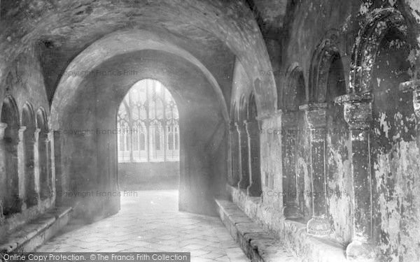 Photo of Worcester, The Cathedral, The Slype 1907