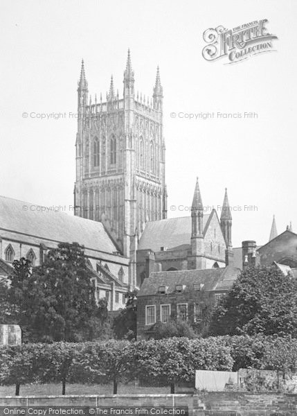Photo of Worcester, The Cathedral Tower 1923