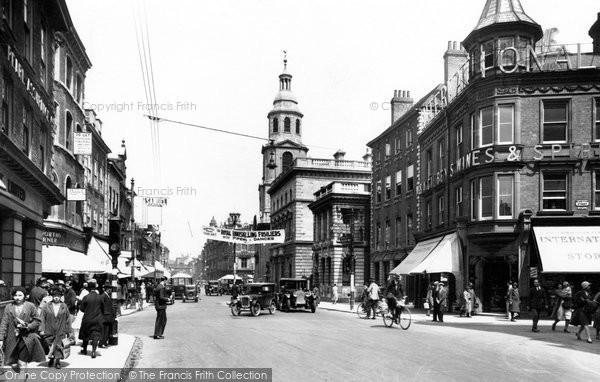 Photo of Worcester, The Cross 1931