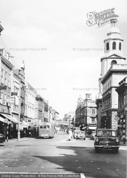 Photo of Worcester, The Cross c.1965