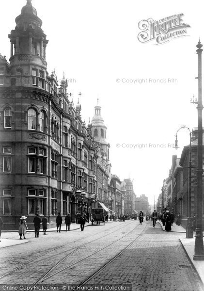 Photo of Worcester, The Foregate 1910