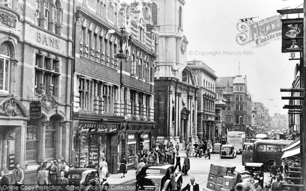 Photo of Worcester, The Foregate 1949
