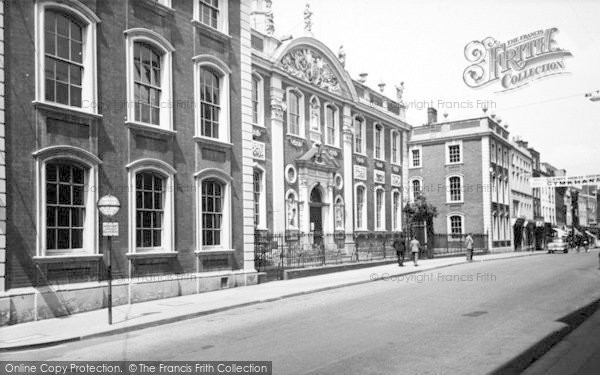 Photo of Worcester, The Guildhall c.1960