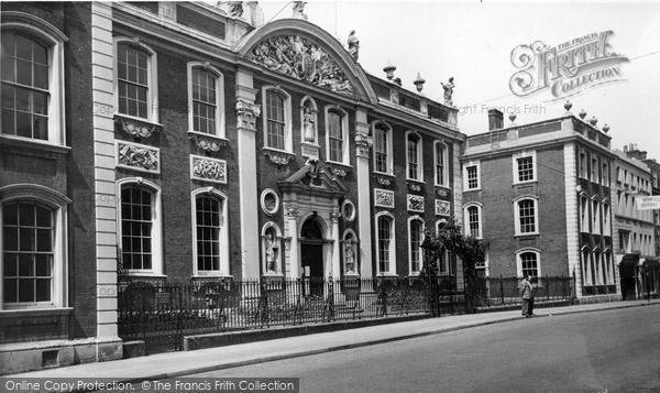 Photo of Worcester, The Guildhall c.1965