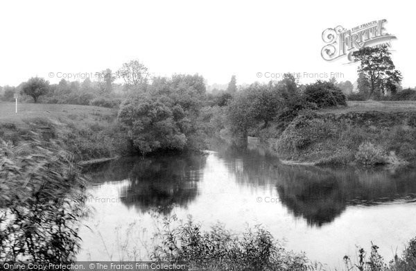 Photo of Worcester, The Junction Of Rivers Teme And Severn 1906