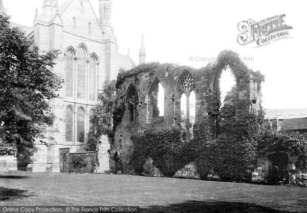 Photo of Worcester, The Monastic Ruins 1891