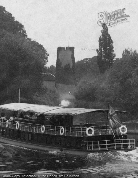 Photo of Worcester, The Old Water Tower From The River Severn 1906