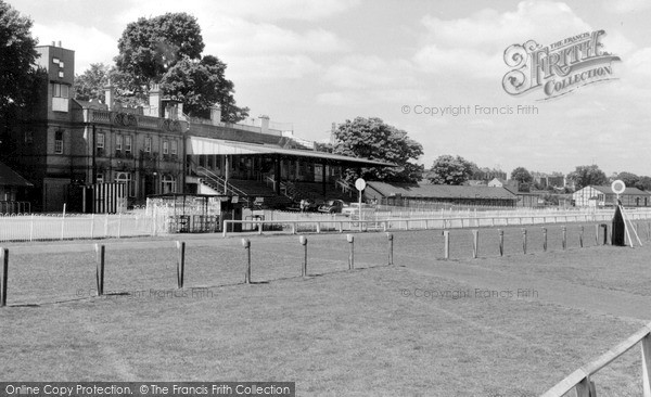 Photo of Worcester, The Racecourse c.1965