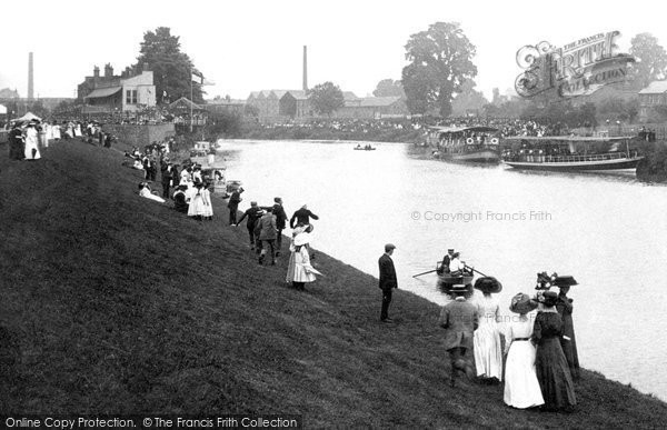 Photo of Worcester, The Regatta On The Severn 1910