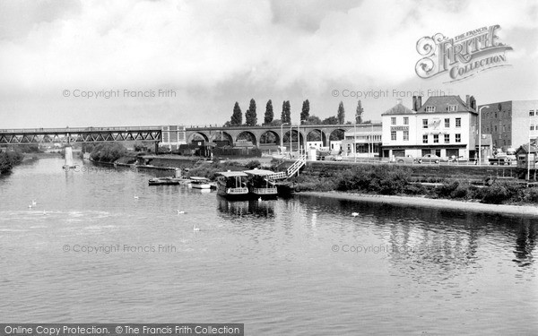 Photo of Worcester, The River Severn c.1962