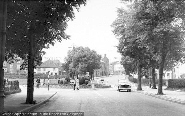 Photo of Worcester, The Roundabout c.1960