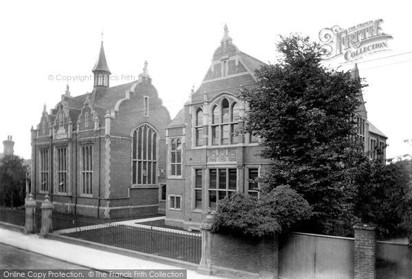 Photo of Worcester, The Royal Grammar School 1907