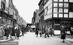 Worcester, The Shambles c.1950