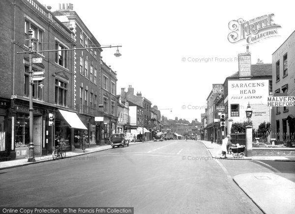 Photo of Worcester, The Tything 1936