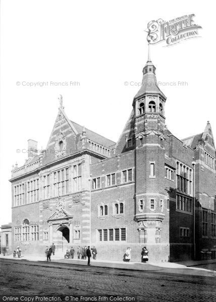 Photo of Worcester, The Victoria Institute 1896