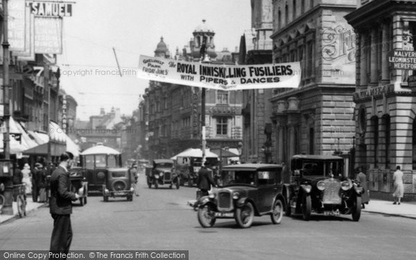 Photo of Worcester, Traffic, The Cross 1931