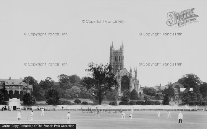 Photo of Worcester, Worcester V Surrey Cricket Match 1907