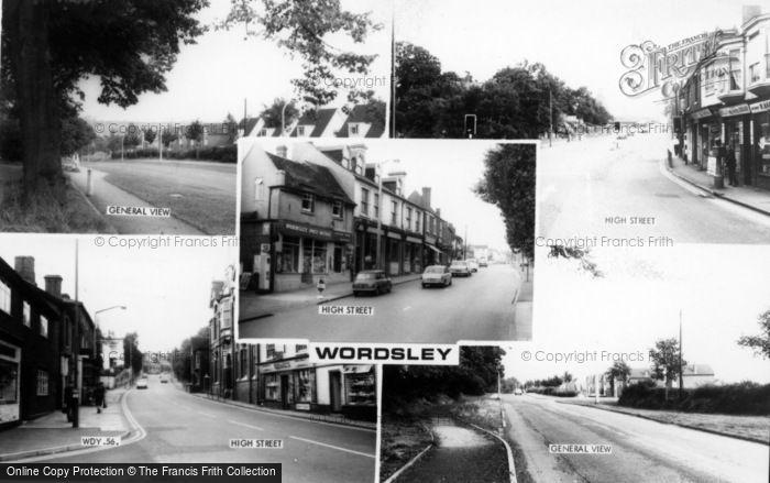 Photo of Wordsley, Composite c.1965